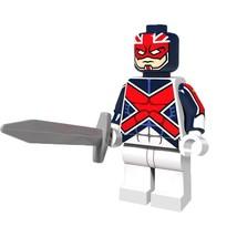1 Pcs Super Hero Figures Captain Britain With Sword Fit Lego Building Bl... - $6.99