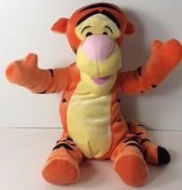 "Fisher Price Tigger Plush 14"" 2001 Mattel Never Played With Displayed - $8.13"