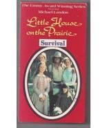 Little House on The Prairie Survival 1991 VHS Tape Michael Landon - $7.80