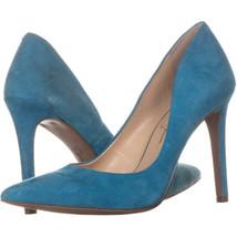 Jessica Simpson cassni Classic Heels, Teal, 7.5 US - $182.58