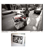 NOTED PHOTOGRAPHER HELMUT HIRLER ORG 1992 SIGNED -ENTITLED HOMELESS - $199.99