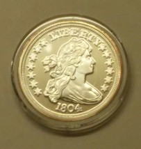 1804 Draped Bust Dollar National Collectors Mint Coin Token - $13.50