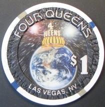 $1 Casino Chip, Four Queens, Las Vegas, NV. LTD 2000. G37. - $4.29