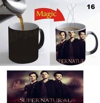 Supernatural TV Series  Magic Mug Color Changing Coffee Mug 11 Oz for Gift - $15.83