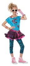 80's Retro Valley Girl Halloween Costume Tween L 10 - 12 - $45.99