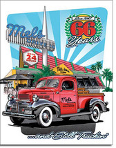 Mel's Drive-In Diner Home Style Cooking 66 Years Metal Sign - $20.95
