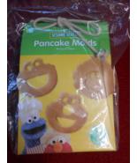 Sesame Street Pancake Molds Cookie Monster Elmo & Big Bird WILLIAM SONOM... - $24.95