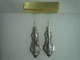 Towle EL Grandee 1964 Earrings Sterling - $98.00