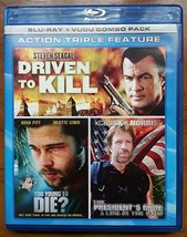 Action Triple Feature: Driven to Kill/To Young to Die?/President's Man [Blu-ray] image 1