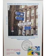 FDC Koninklijke Nederlandse Toeristenbond 1 Maart 1983 Postcard - $6.95