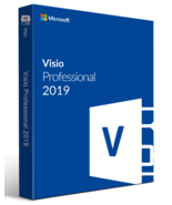 Microsoft Visio 2019 Professional 32/64 Bit Key & Download Instant Delivery - $12.99