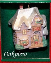 Hallmark 1988 Old English Village #1 *NIB-DB* Family Home Miniature Ornament - $5.95