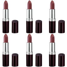 NEW Rimmel Lasting Finish Lipstick Coffee Shimmer 0.14 Ounces (6 Pack) - $35.99