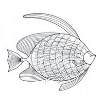 Intricate Fish Wall Decor - $71.33