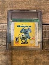 Monsters, Inc. (Nintendo Game Boy Color, 2001) Cartridge - $4.16