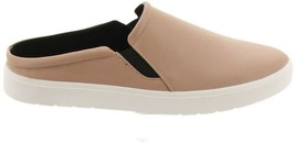 H Halston Leather Sporty Slide-On Shoes Round Toe Ellie Sand 10M NEW A27... - €79,86 EUR