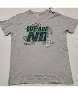 NWT Notre Dame Fighting Irish Men's Gray Pro Edge T-Shirt Large New With... - $13.85