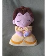 Disney Princess yellow BELLE BEAUTY and the BEAST Glowing Light Up plush... - $22.43