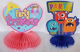 3D Honeycomb Party Table Centerpiece - Monster Party - Princess Party - $3.32