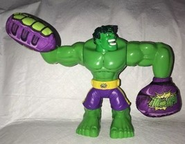 "Hasbro Marvel 2013 KAPOW! Incredible Hulk 10"" Talking w/ Plush Hands Fists - $16.82"