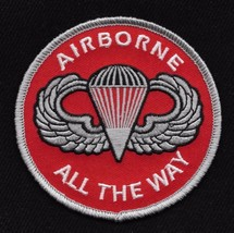 U.S. Army Airborne Patch - All The Way - $9.89