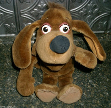 1994 FISHER PRICE PUZZLE PLACE BROWN PUPPY DOG STUFFED ANIMAL PLUSH TOY ... - $7.25