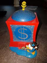 Extremely Rare! Walt Disney Scrooge McDuck Old Metal Vault Money Bin Pig... - $643.50