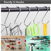 LOYMR 10 Pack 4.7 Inches Extra large S Shape hooks Heavy-duty Metal Hanging Hook image 6