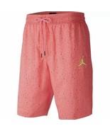 Nike Air Jordan Jumpman Men's Cement Poolside Shorts Pink CI9133-639 Sz ... - $36.95