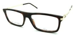 Marc Jacobs Rx Eyeglasses Frames Marc 142 QUM 55-16-145 Dark Havana Gold - $70.56