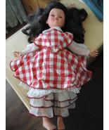 RARE Vintage Luigi FURGA Italy sleep eye vinyl hard plastic doll blued e... - $50.00