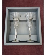 Waterford Millennium Peace Flutes ~ MINT CONDITION IN BOX ~ - $130.00