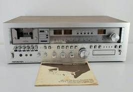 Soundesign 5954 AC 110-120V AM/FM Stereo Receiver Cassette Recorder - $217.75