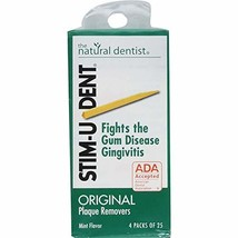 Stim-U-Dent Plaque Removers 25 each packs - 144 packs **made in china** - $56.67