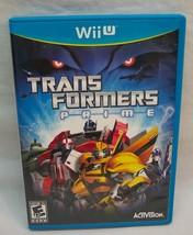 WALT DISNEY TRANSFORMERS PRIME Nintendo Wii U 2012 VIDEO GAME COMPLETE - €17,38 EUR
