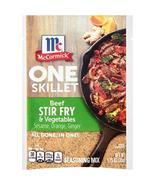 McCormick One Skillet Beef Stir Fry & Vegetables Seasoning Mix, 1.25 oz - $5.89