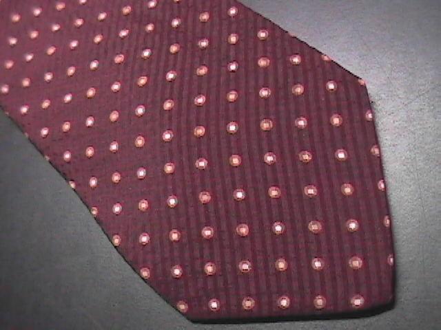 Hugo Boss Neck Tie Dark Chocolate Italian Silk Unused with Paper Retail Tag