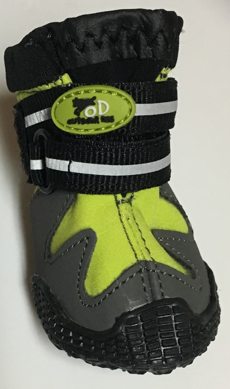 All For Paws All Road Protection Boots Small Dog Black & Neon Green NIB
