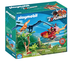 Playmobil Adventure Copter with Pterodactyl 9430 - $38.00