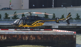 Helicopter Tours In NYC 13 X 19 Unmatted Photograph - $35.00