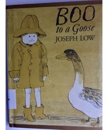 Boo to a Goose Joseph Low 1st edition 1975 HC - £8.29 GBP