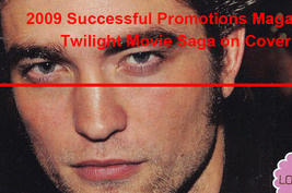 Twilight Saga Cover Photo Rare 2009 Successful Promotions Magazine - $32.99