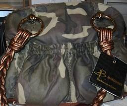 B. Makowsky Camoflouge Leather Satchel  - $78.95