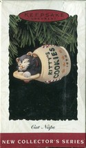 Hallmark Keepsake Ornament - 1994 Cat Naps - 1st in Series - $4.94