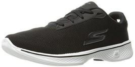 Skechers Performance Women's Go 4-Brisk Walking Shoe, Black/White, 10 M US - $81.00