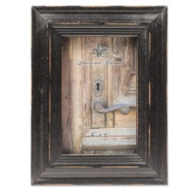 4x6 Weathered Black Wood Picture Frame - $275,87 MXN
