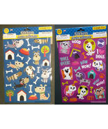 DOG GOOGLY EYE STICKER Set of 3 Packs 75 Large Jumbo Stickers Pet Puppy ... - $9.99