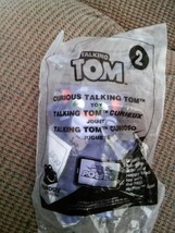 McDonald's Happy Meal Toy # 2 Talking Tom-Curious Talking Tom 2016 NIP - $8.58