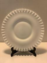 "Vintage Fenton Silver Crest Dinner Plate 10 1/2"" - $25.00"