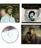 Lot of 4 CDs Engelbert Humperdinck Michael Crawford - No Cases - $2.99